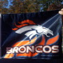 Broncos Car Flag